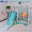 Parklon – Castle 3-in-1 Fun Slide and Swing