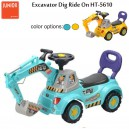 Junior by Child – Eskavator Keruk Ride On HT-5610