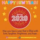 Selamat Datang Tahun Baru 2020