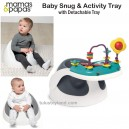 Mamas & Papas - Baby Snug Seat and Activity Tray