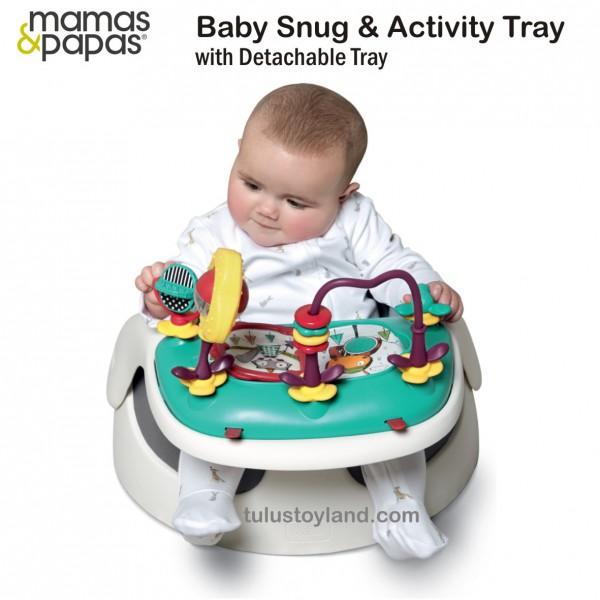 Mamas Papas Baby Snug And Activity Tray Baby Seat