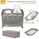 Joie - Commuter Change & Bounce Travel Cot