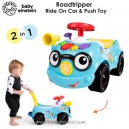 Baby Einstein - Roadtripper 2 in 1 Ride On Car & Push Walker Toy