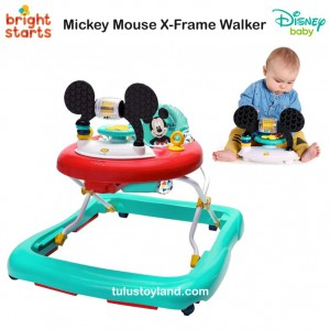 Bright Starts - Mickey Mouse X-Frame Walker