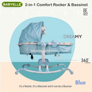 Babyelle – 2in1 Comfort Rocker & Bassinet BE002