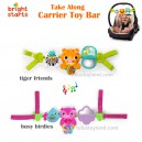 Bright Starts – Take Along Carrier Toy Bar
