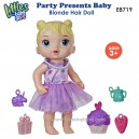 Baby Alive - Party Presents Baby Blonde Hair Doll E8719