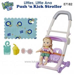 Baby Alive - Littles Push 'n Kick Stroller, Little Ana E7182