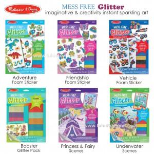 Melissa & Doug - Mess Free Glitter Foam Sticker and Scenes