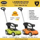 Pliko -  Lamborghini Centenario 3 in 1 Ride On Toy Pk-815