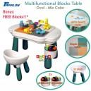 Parklon - Multifunctional Block Table Oval