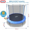 Little Tikes - Mega 10-Foot Trampoline