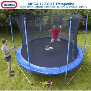 Little Tikes - Mega 12-Foot Trampoline