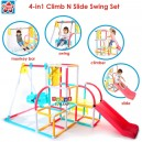 Grow n Up - 4 in 1 Climb n Slide Swing Activity Set