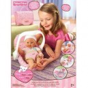Fisher Price – Little Mommy Travel Play Set with Doll