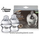Tommee Tippee - Closer to Nature Milk Bottles 150ml (2Pcs)
