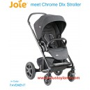 Joie – Chrome DLX Stroller in Pavement