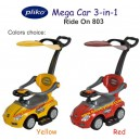 Pliko – Ride On 803 Mega Car 3-in-1