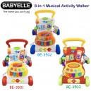Babyelle – 8 in 1 Musical Activity Walker