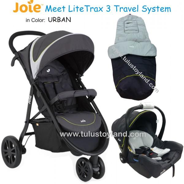 joie litetrax 3 travel system