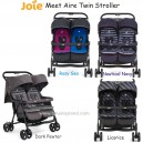 Joie - Aire Twin Stroller
