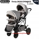 Babyelle – Duo Evoque Tandem Stroller