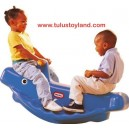 Classic Whale Teeter Totter
