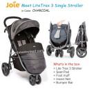 Joie – Meet LiteTrax 3 Single Stroller