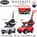 Pliko – Ride On 1528 Maserati Alfieri 3 Stages and Rocking