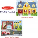 Melissa and Doug – Sound Puzzle Around The