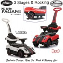 Pliko – Ride On 1538 PAGANI 3 Stages and Rocking