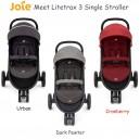 Joie – Litetrax 3 Single Stroller