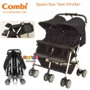 Combi - Spazio Duo Compact 2 Go Twin Stroller