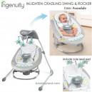 Ingenuity - InLighten Cradling Swing & Rocker