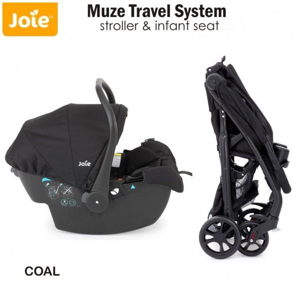 joie muze travel system stroller infant seat