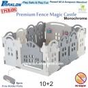 Parklon - Premium Fence Magic Castle 10+2
