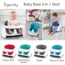 Ingenuity – Booster Seat Baby Base 2 in 1 Compact Packaging