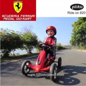 Pliko - Scuderia Ferrari Pedal Go Kart
