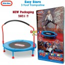 Little Tikes – Easy Store Trampoline 3 Foot