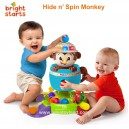 Bright Starts - Hide and Spin Monkey