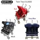 Babyelle  - Twin Trevi Stroller S-2500