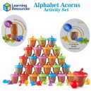 Learning Resources - Alphabet Acorns Activity Set