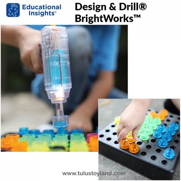 Educational Insights Design & Drill BrightWorks | Mainan ...