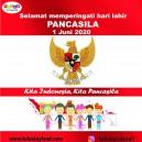 Seramat Hari Lahir Pancasila 1 Juni 2020