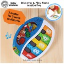 Baby Einstein – Discover & Play Piano Musical Toy