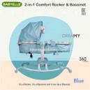 Babyelle – 2in1 Comfort Rocker & Bassinet BE002